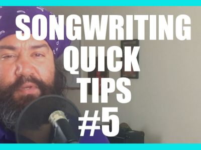 Song Writing Quick Tips 5 – Evaluating Work