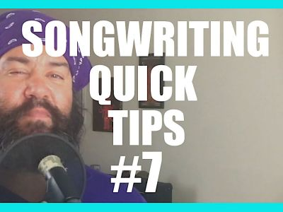 Song Writing Quick Tips 7 – More Cowbell, More Backstory