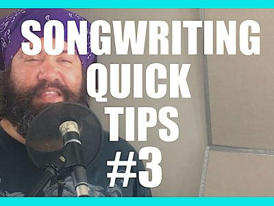 Edit Later – Song Writing Quick Tips 3