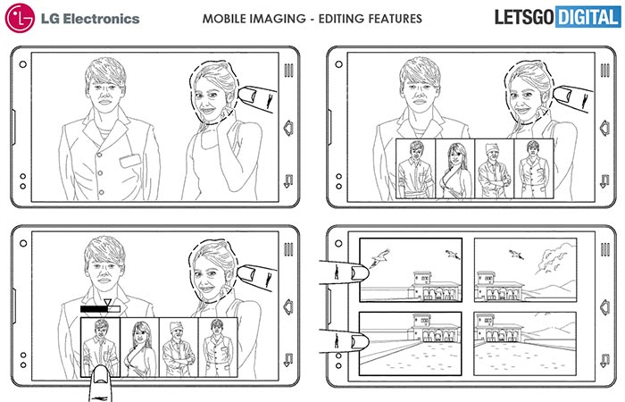 LG patent reveals smartphone with 16 rear cameras array
