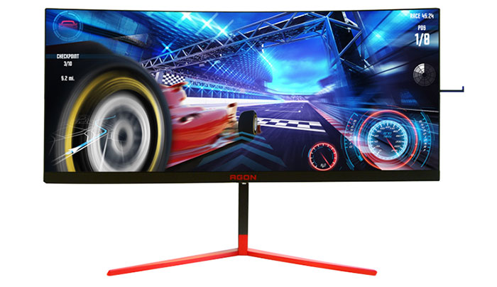 AOC Agon 35-Inch Curved HDR 200Hz gaming monitor revealed - Monitors - News - HEXUS.net