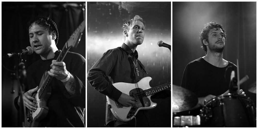 Ruban, Jake and Greg from Unknown Mortal Orchestra