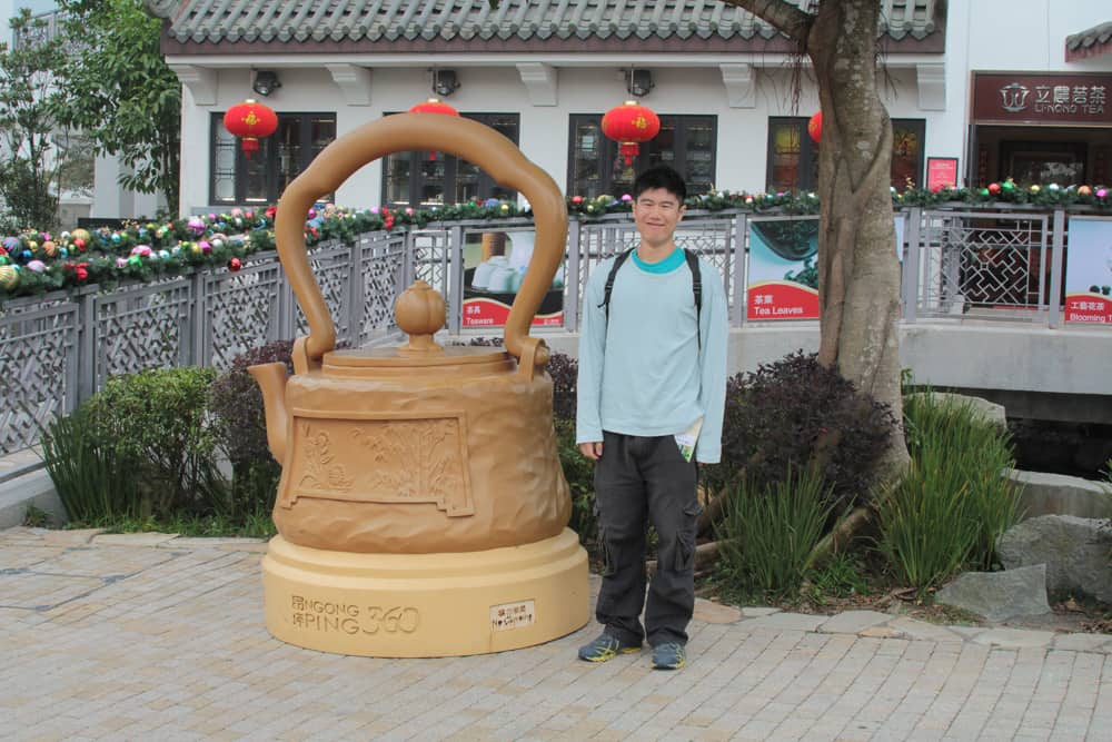 James and the Giant Kettle