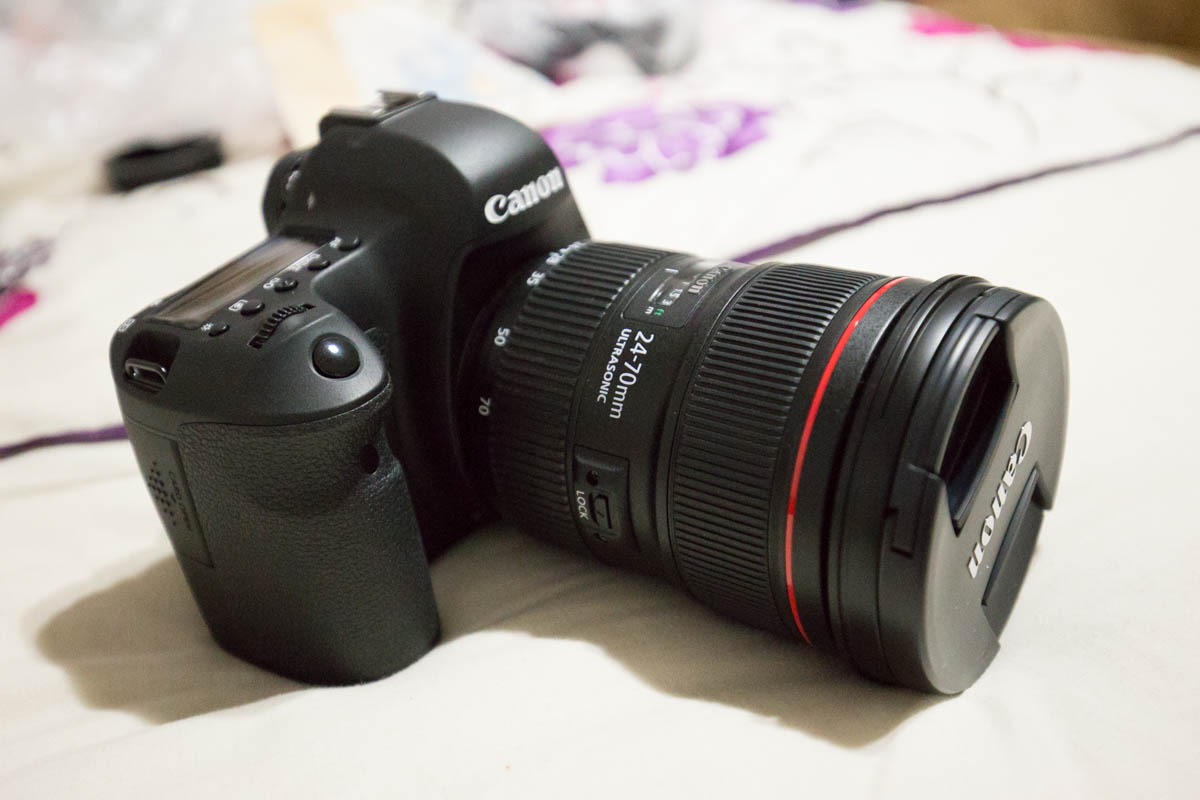 A photo of my new Canon 60D