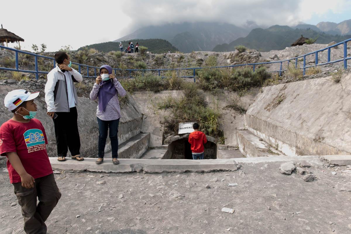 The underground bunker