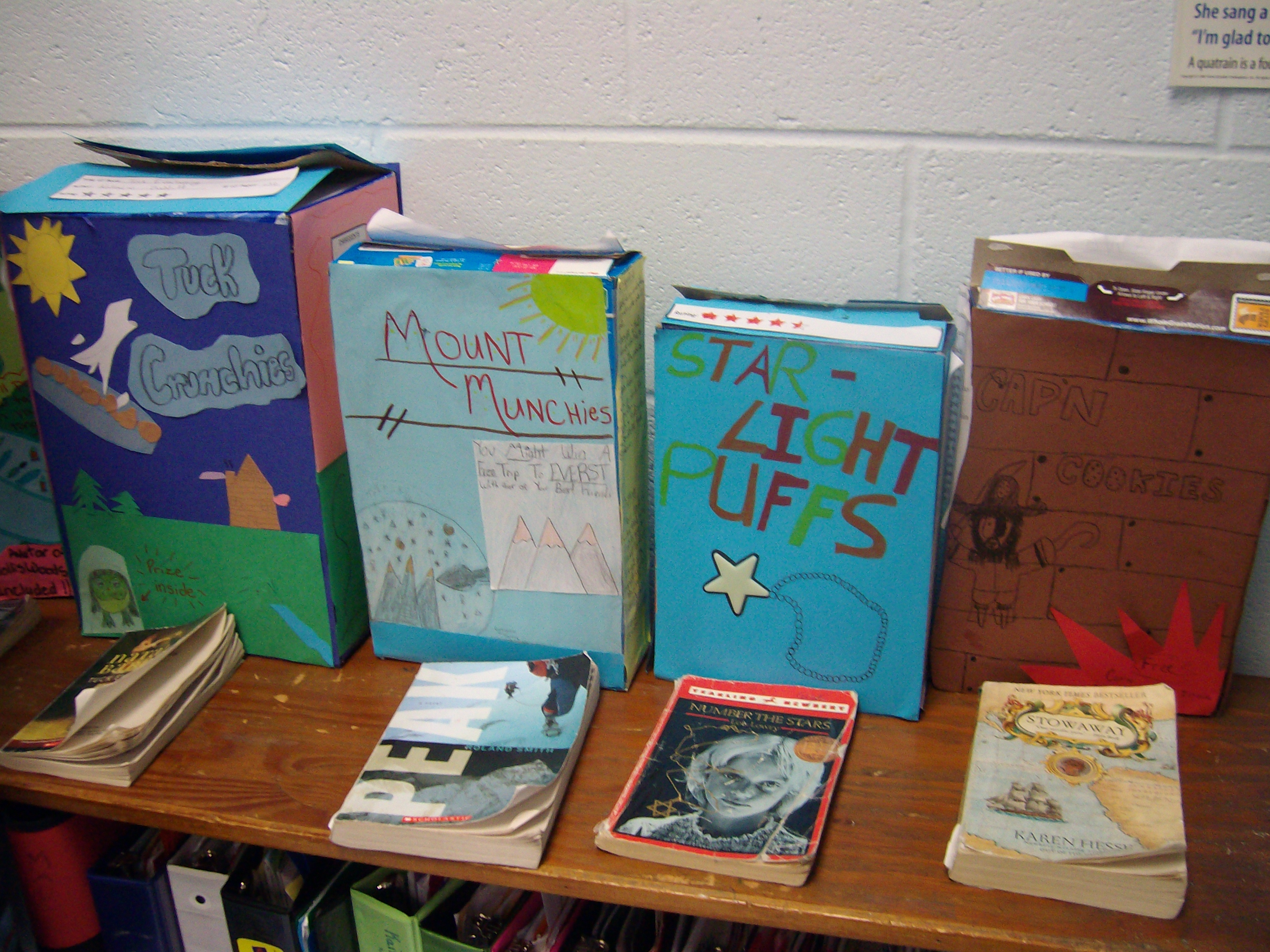 Mrs Faulkner S Third Grade Cereal Box Reading Project