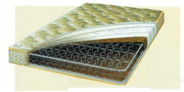 高密度連続スプリングマットレスの特徴と機能性(フランスベッド)