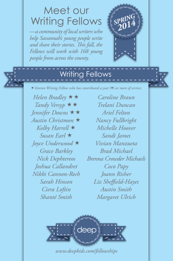 Spring 14 Writing Fellowships