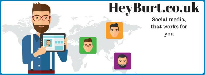 HeyBurt Social Media Management Image