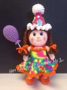 birthday party doll
