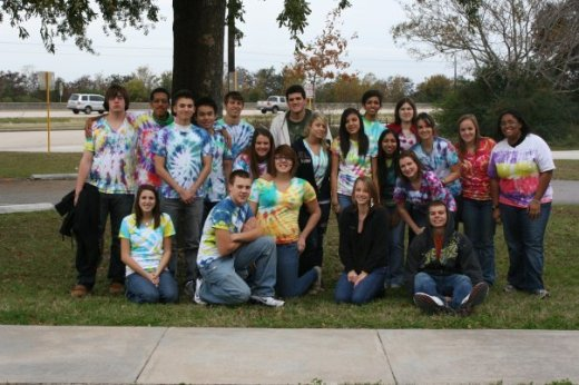My 12th grade AP Biology class, 2010