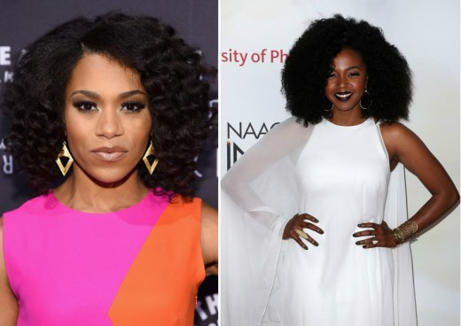 Left: Kelly McCreary Right: Jerrika Hinton