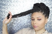gorgeous natural hair flat twist