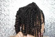 gorgeous natural hair flat twist