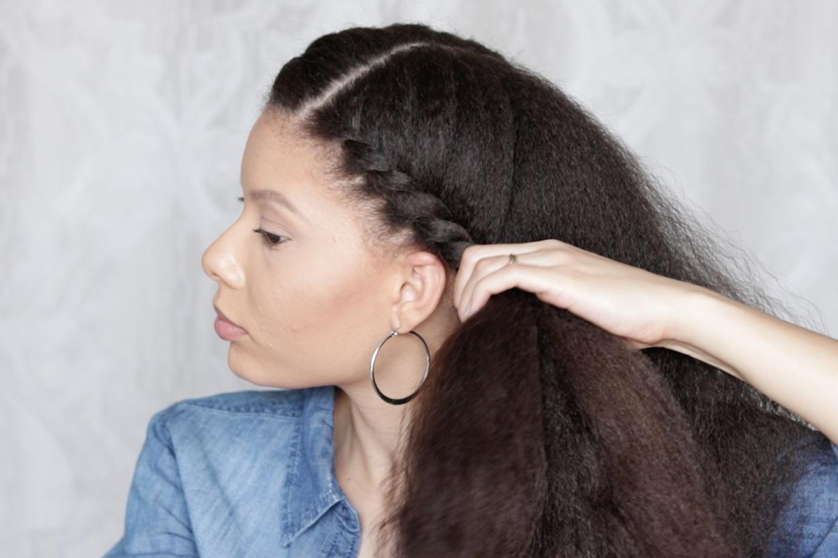Super Easy Every Day Flat Twist Natural Hair Style Hey Chrishinda