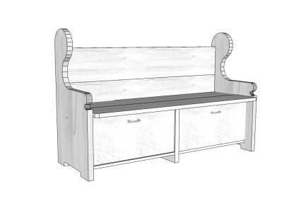 pew-style-bench-with-two-drawers
