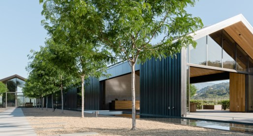 Gorgeous LEED Platinum winery is made of reclaimed wood