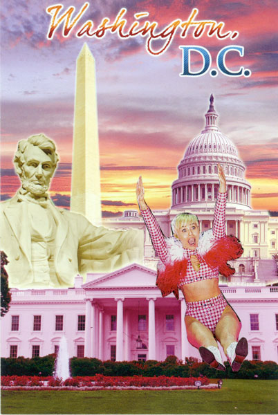 DC postcards