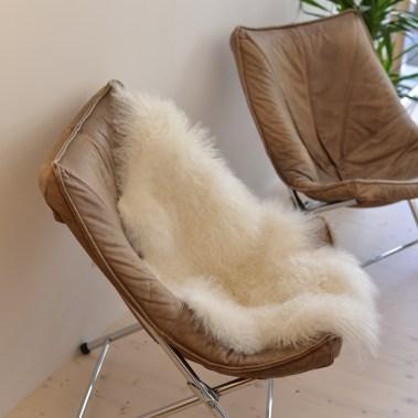 Teun Van Zanten Foldable Leather Chairs