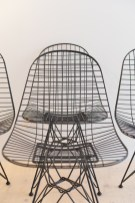 Eames DKR Wire Chair Set by Ray and Charles Eames