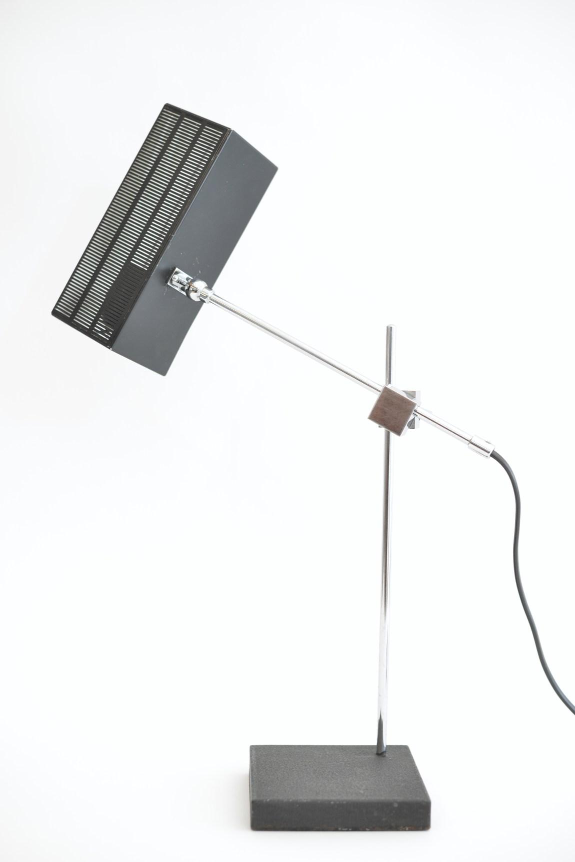 Max Bietenholz AG Kloten Cube Lamps Lampe Black and White