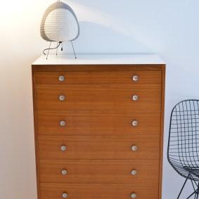 Walnut 7 Drawer Dresser like Hans Eichenberger Victoria Moebel Switzerland
