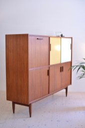 East Indian Rosewood Sideboard Highboard Credenza with Bar heyday möbel moebel Zürich Zurich Binz