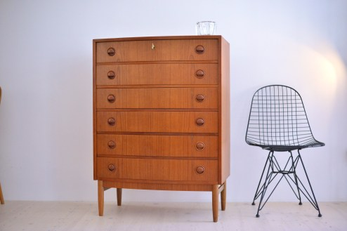 Kai Kristiansen Large Teak Dresser heyday möbel moebel Zürich Zuerich Binz