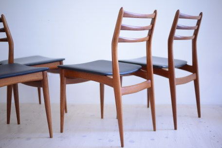 Swissteak Swiss Dining Chair Set heyday möbel moebel Zurich Zürich Binz Vintage Furniture
