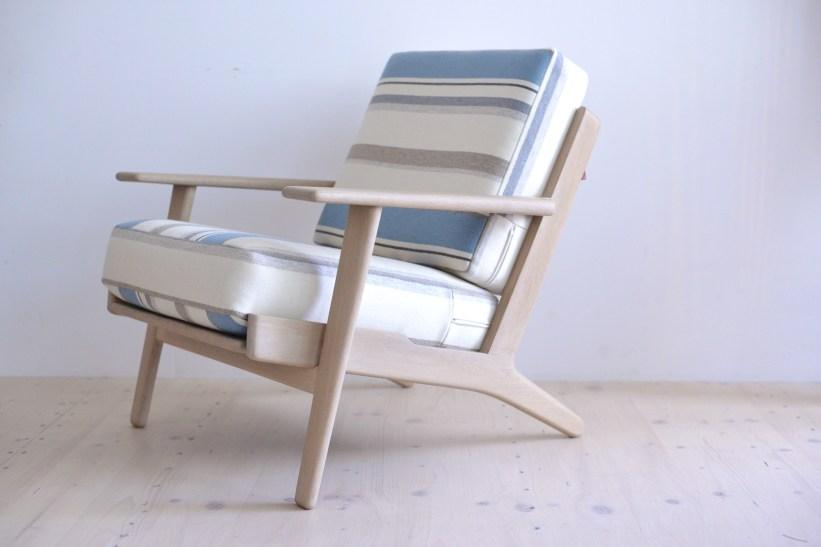 Hans J. Wegner GE290 Oak Lounge Chair Easy Chair heyday möbel moebel Zurich Zürich Binz