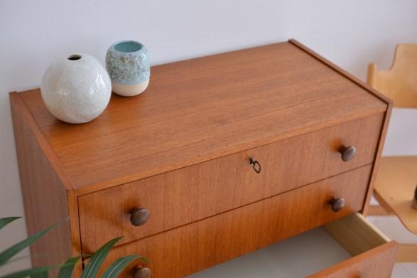 Little teak drawer heyday moebel zurich zuerich binz altstetten vintage mid century