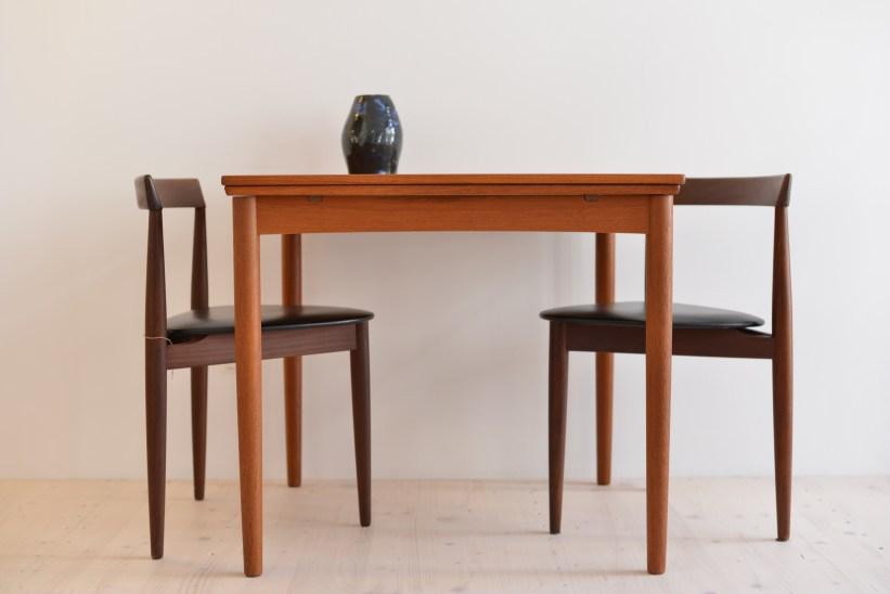 Poul Hundevad Dogvad Möbelfabrik Denmark Teak Table Extendable heyday möbel moebel Zürich Zurich Binz Altstetten