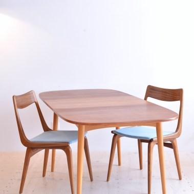 S.E. Fryklund Hagafors Swedish Dining Table heyday möbel moebel Zurich Binz Zuerich Altstetten Vintage Mid-Century