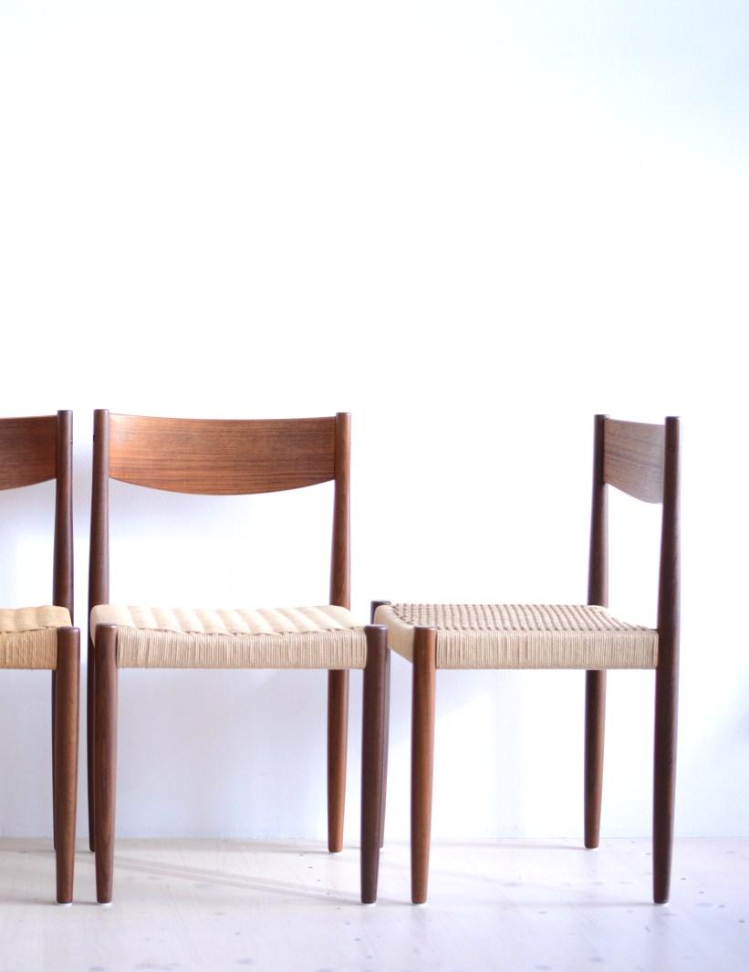 Poul Volther Dining Chairs Frem Rojle heyday möbel moebel Zürich Grubenstrasse Binz Altstetten vintage mid-century