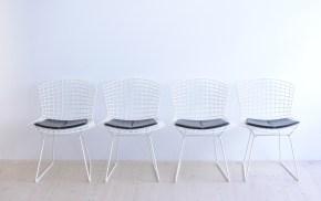 Bertoia Side Chair by Knoll Intl Harry Bertoia heyday möbel moebel Zurich Zürich Binz Vintage