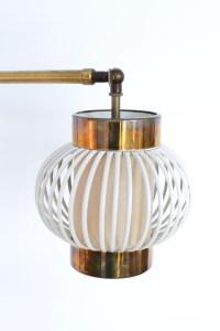 Danish Wall Lamp in Brass heyday möbel