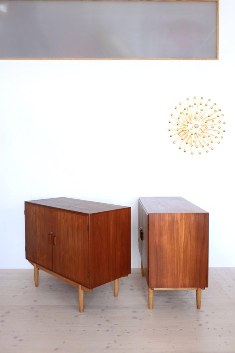 Borge Mogensen Teak and Oak Cabinet heyday moebel Zurich