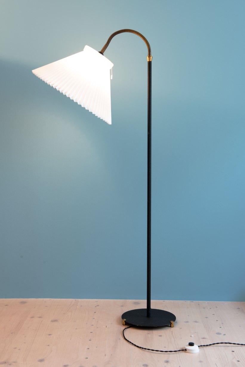 Danish_Le_Klint-Shade_Floor_Lamp_9730