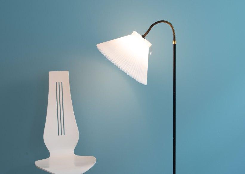 Danish_Le_Klint-Shade_Floor_Lamp_9740