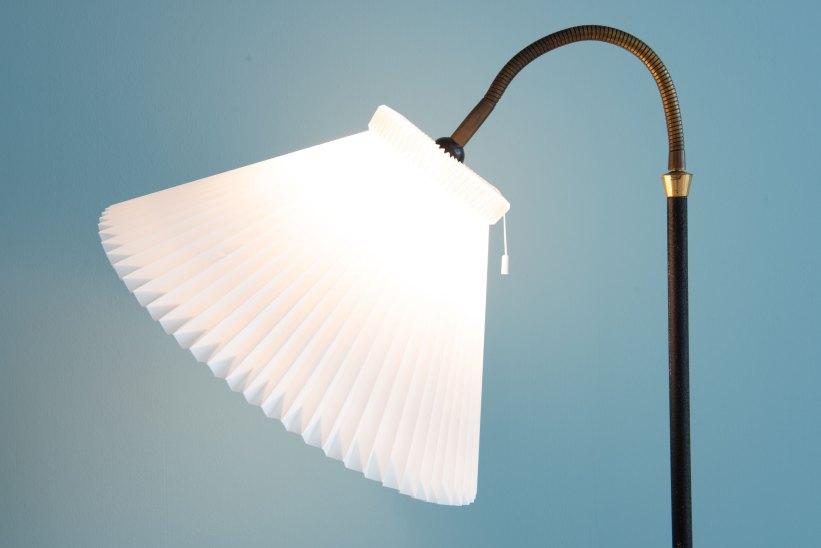 Danish_Le_Klint-Shade_Floor_Lamp_9746