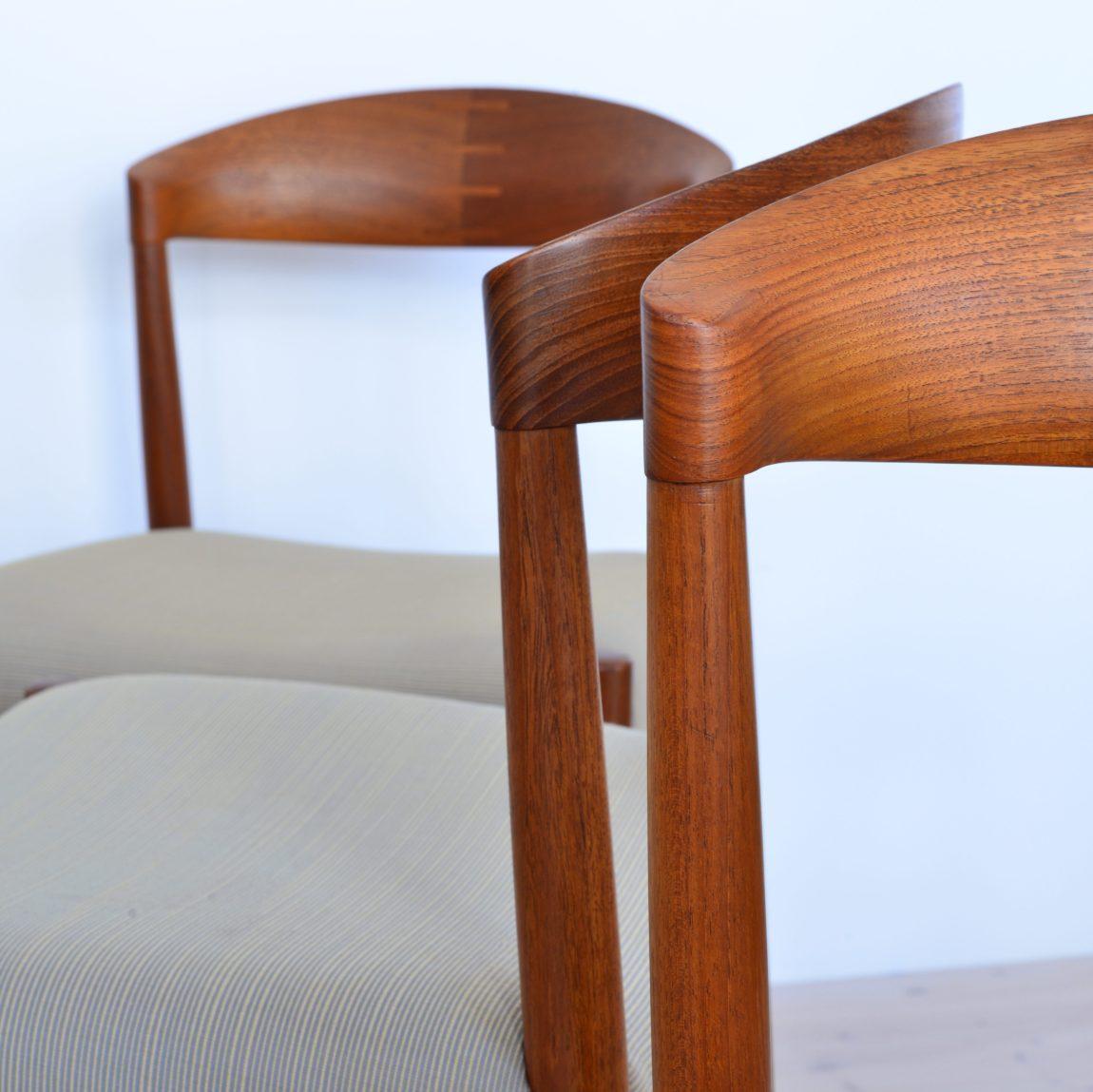 Knud Andersen Chairs 1960s Aarhus Denmark heyday möbel Mid-Century