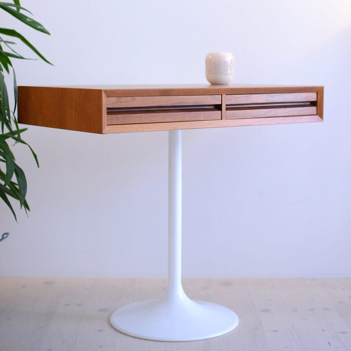 Cado-Tulip Hybrid Desk Teak heyday möbel moebel Zürich Zurich Binz Mid-Century Modern