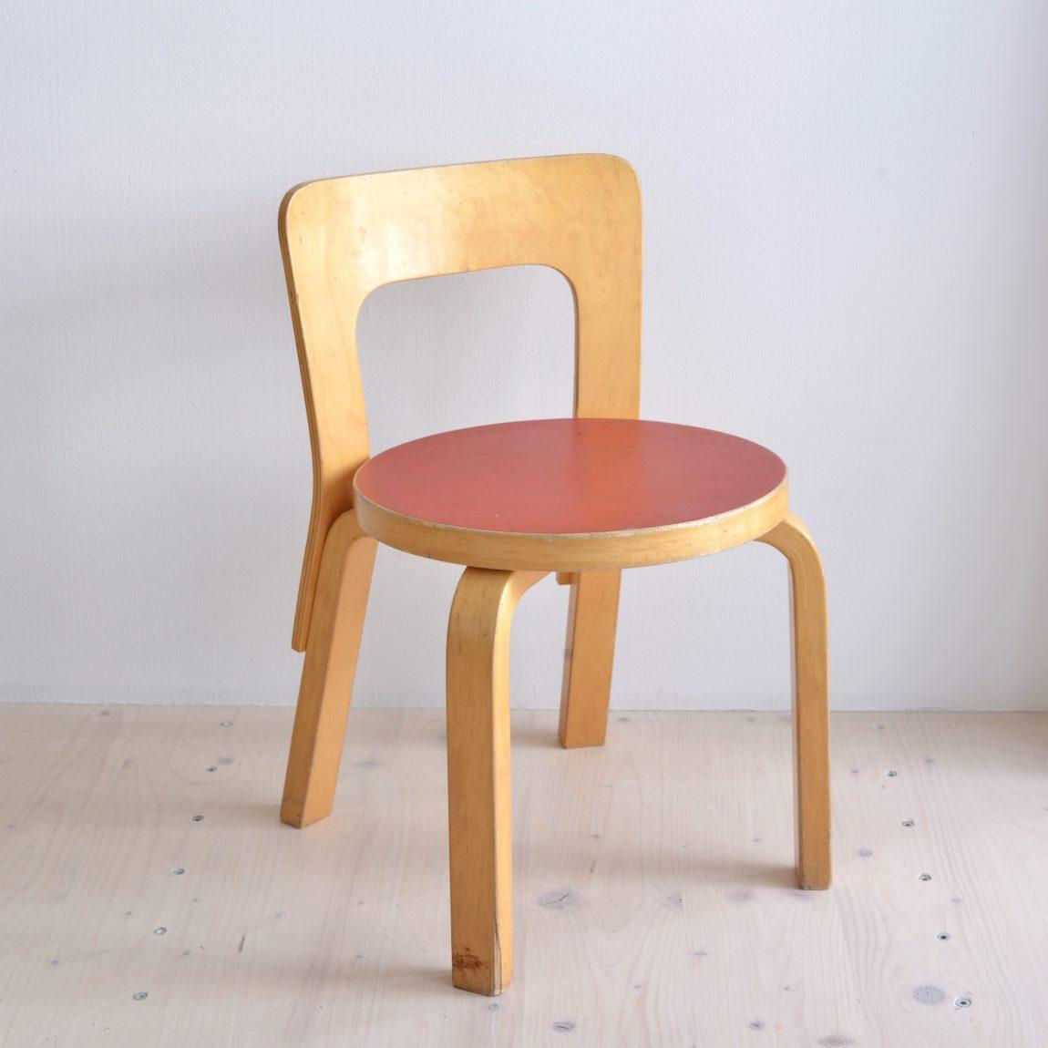 Children's Chair N65 Alvar Aalto Vintage heyday moebel Zürich Zurich