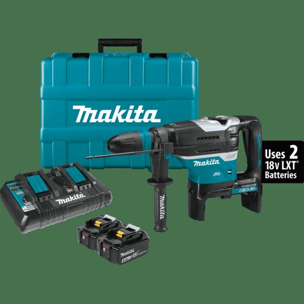 Makita XRH07PTUN Brushless Cordless Rotary Hammer Kit