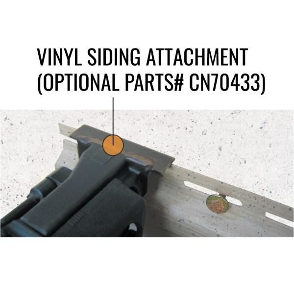 CN445R3 Vinyl siding optional attachment