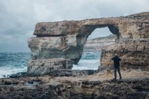 Travelling to Gozo, Azure Window