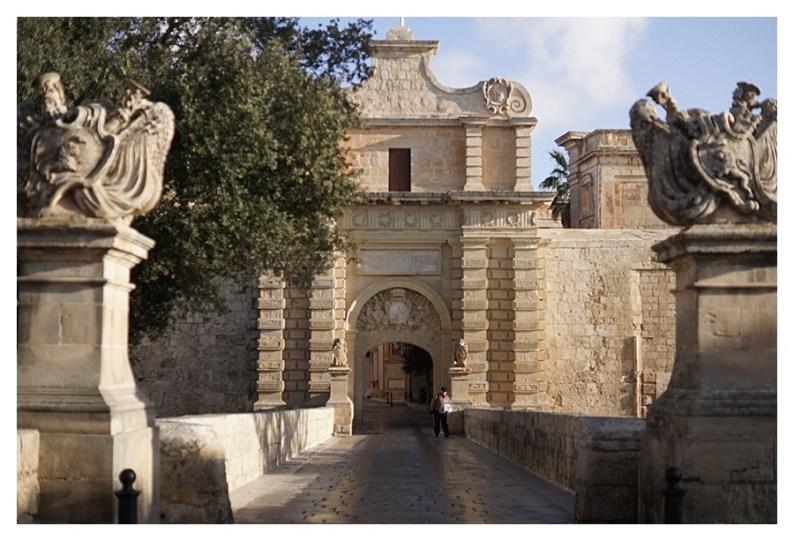 City gates of Mdina, Malta