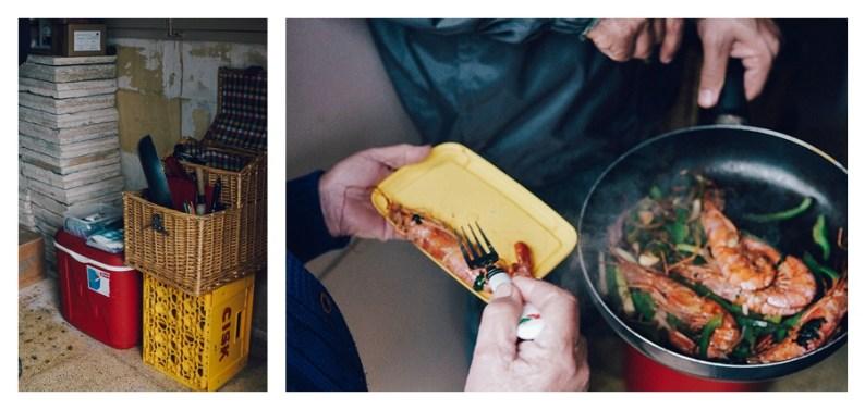 Karl's chef skills