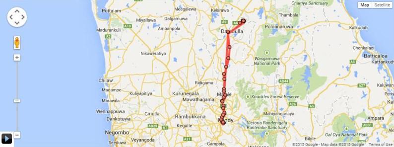 HDYTI Kandy to Sigiriya