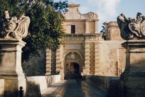 Malta, gates of Mdina